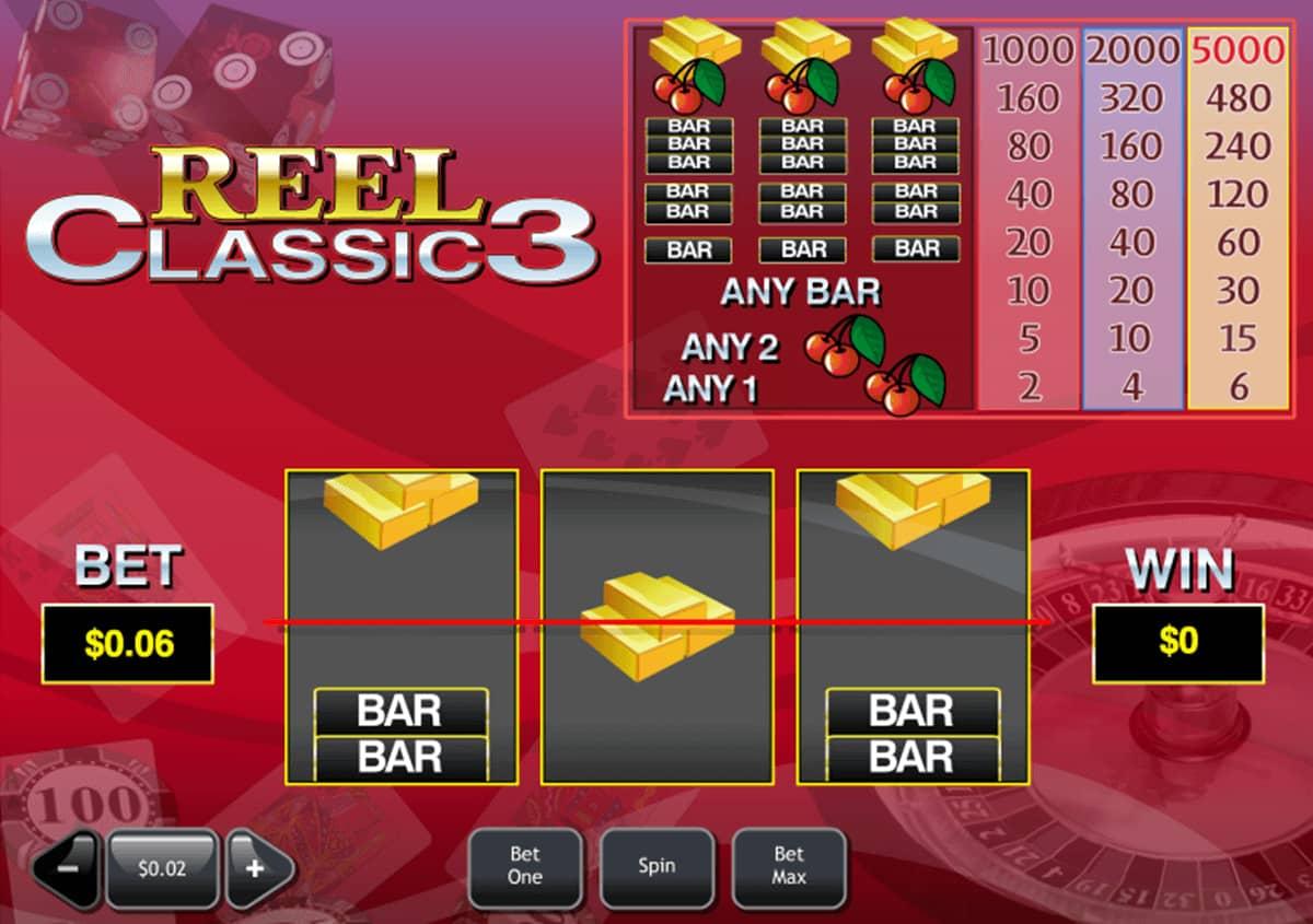 3 Walzen Spielautomaten im Online Casino