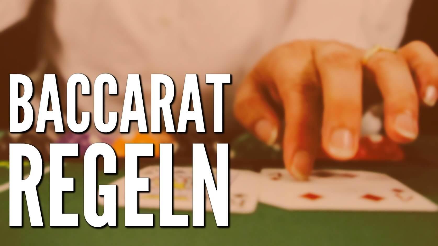 Baccarat Spielregeln im Online Casino