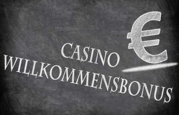 Willkommensbonus im Online Casino