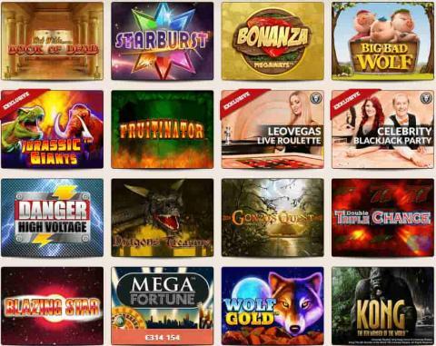 LeoVegas Spiele Online Casino